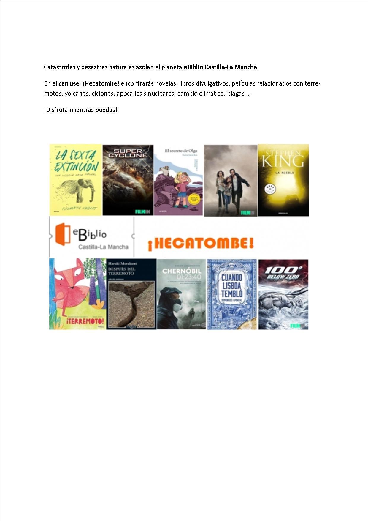 Hecatombre para publicar