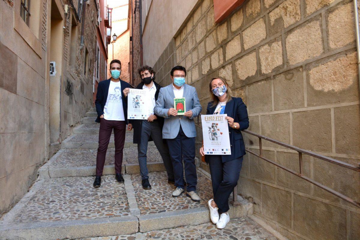 https://www.toledo.es/wp-content/uploads/2020/09/presentacion-erato-fest-2020-1200x800.jpg. El Ayuntamiento respalda la nueva edición del Erató Fest que regresa con uno de los mejores carteles poéticos del país
