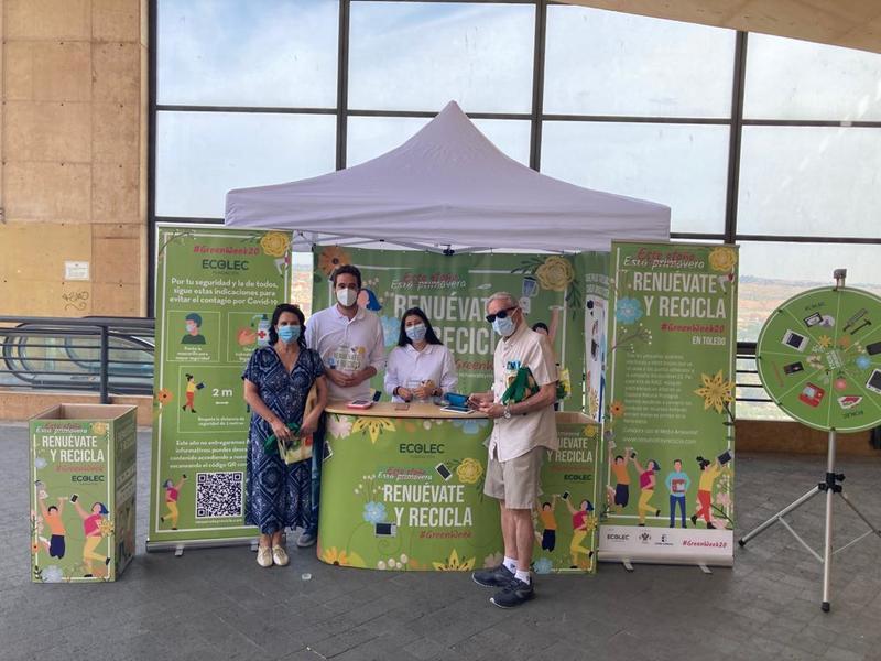 https://www.toledo.es/wp-content/uploads/2020/09/toledo-evento-1_16-9-2020-1.jpeg. La 'Green Week 2020' llega a Toledo con diferentes iniciativas para concienciar e incentivar el reciclaje responsable