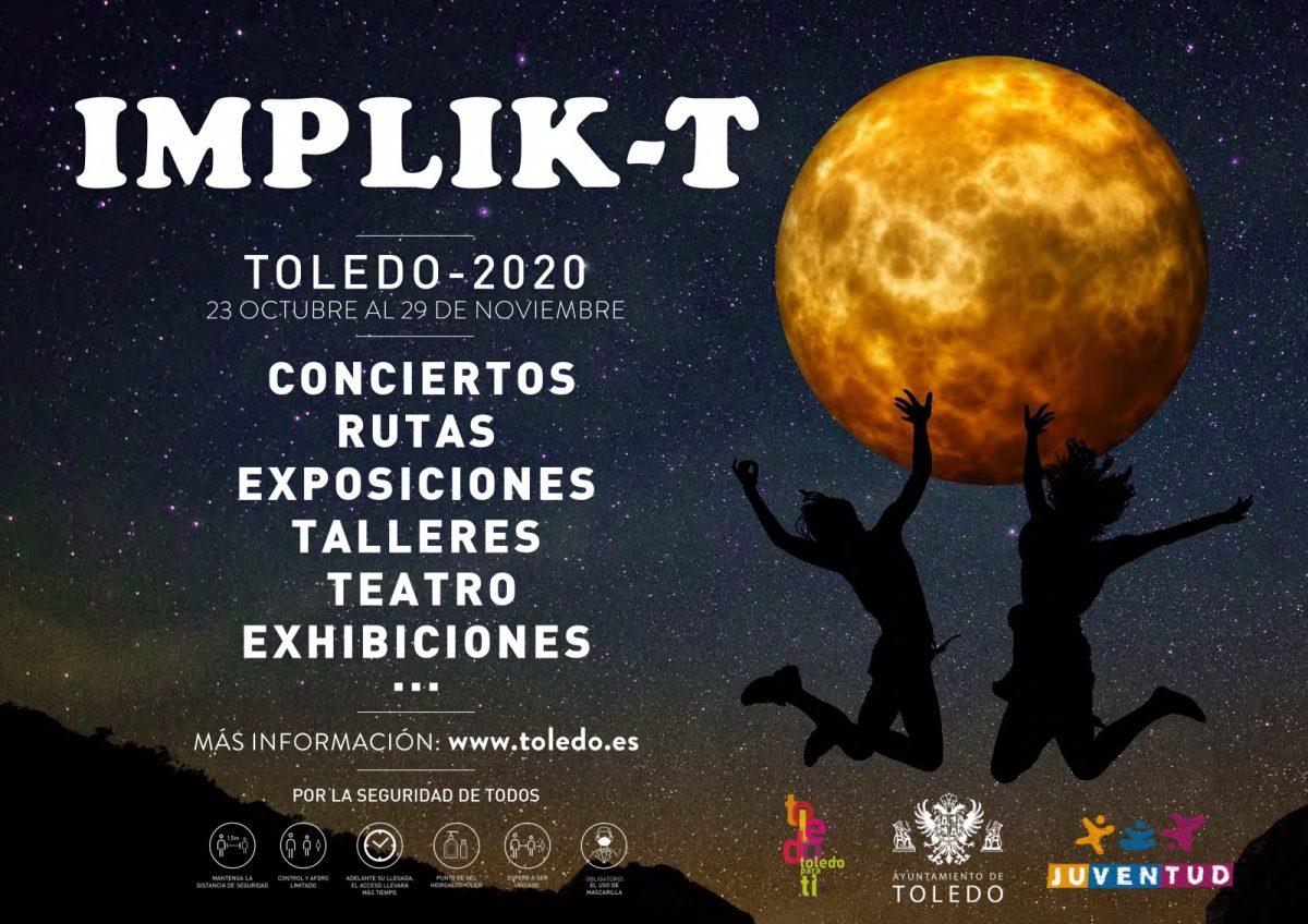 """https://www.toledo.es/wp-content/uploads/2020/10/implik-t_ayto_octubre2020_dina3_gnérico-1200x848.jpg. """"ESPEJISMOS"""": Presentación de proyectos"""