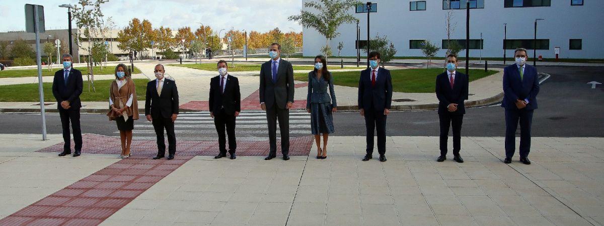 Inauguración del Hospital Universitario de Toledo