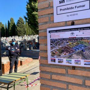 l Gobierno local destaca el buen funcionamiento del dispositivo especial del Cementerio y agradece la colaboración ciudadana