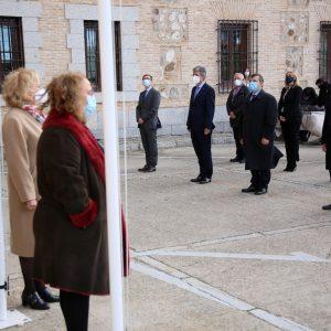 l Gobierno local participa en el acto institucional de la Constitución Española en las Cortes de Castilla-La Mancha