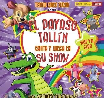 "https://www.toledo.es/wp-content/uploads/2020/12/payaso-tallin.jpg. Musical ""El Payaso Tallín"""