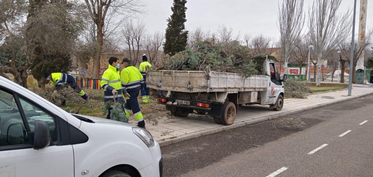 https://www.toledo.es/wp-content/uploads/2021/01/arboles_sabado_1-1200x570.jpeg. El Ayuntamiento continúa el fin de semana con las labores de retirada de ramas caídas en la vía pública tras el temporal