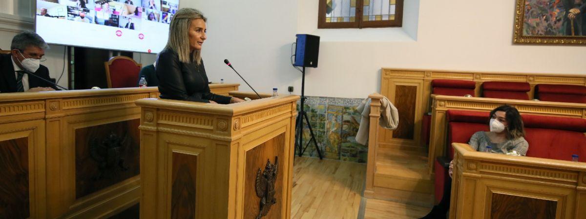 La alcaldesa destaca la ingente labor de…