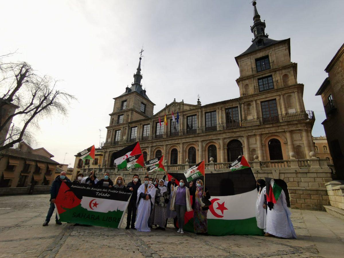 https://www.toledo.es/wp-content/uploads/2021/02/20210226_amigos_pueblo_saharaui-1-1200x900.jpeg. El Ayuntamiento mantiene el apoyo a las diferentes iniciativas que promueve la Asociación de Amigos del Pueblo Saharaui