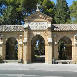 eabre el acceso principal del Cementerio Municipal y continúan los trabajos de limpieza y seguridad en diferentes zonas acotadas