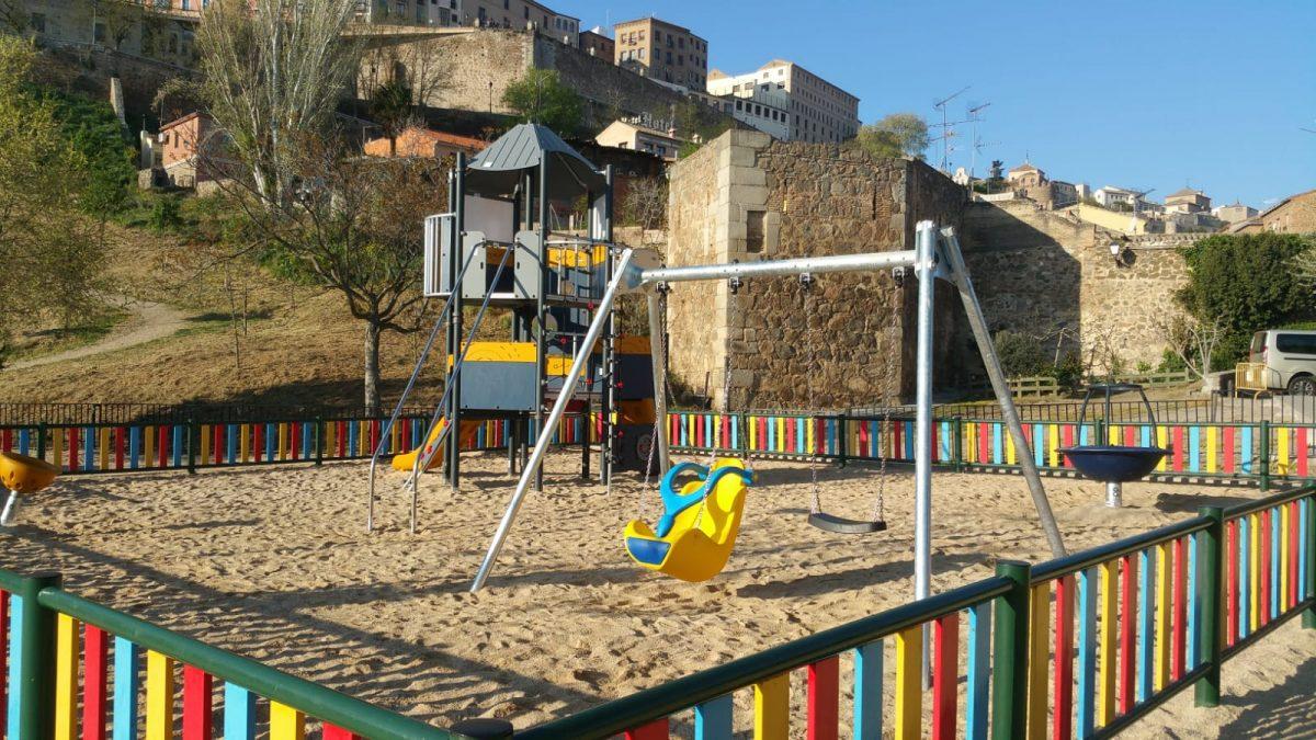 https://www.toledo.es/wp-content/uploads/2021/02/area_infantil_granadal-3-1200x675.jpeg. Toledo aumenta en casi medio millón de euros la inversión destinada al cuidado de zonas verdes y áreas de recreo