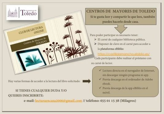 Club lectura mayores