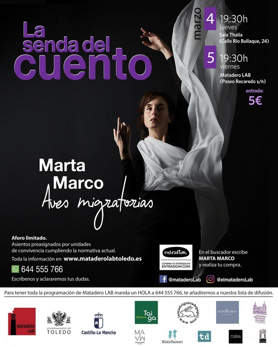 https://www.toledo.es/wp-content/uploads/2021/02/marzoadultos-violeta-960x1200.jpg. AVES MIGRATORIAS – Cuentos para público adulto con Marta Marco