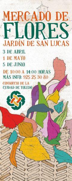 Cartel Mercado Flores 2021
