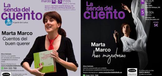 """https://www.toledo.es/wp-content/uploads/2021/03/marta-marco-copia-copia-520x245-1.jpg. Regresa """"LA SENDA DEL CUENTO"""" el 4 y 5 de marzo de 2021"""