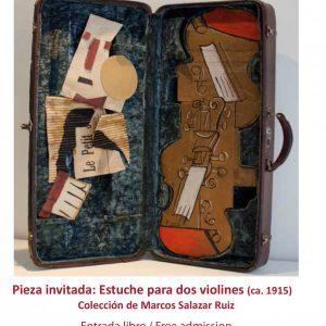Picasso nos visita – Estuche para dos Violines