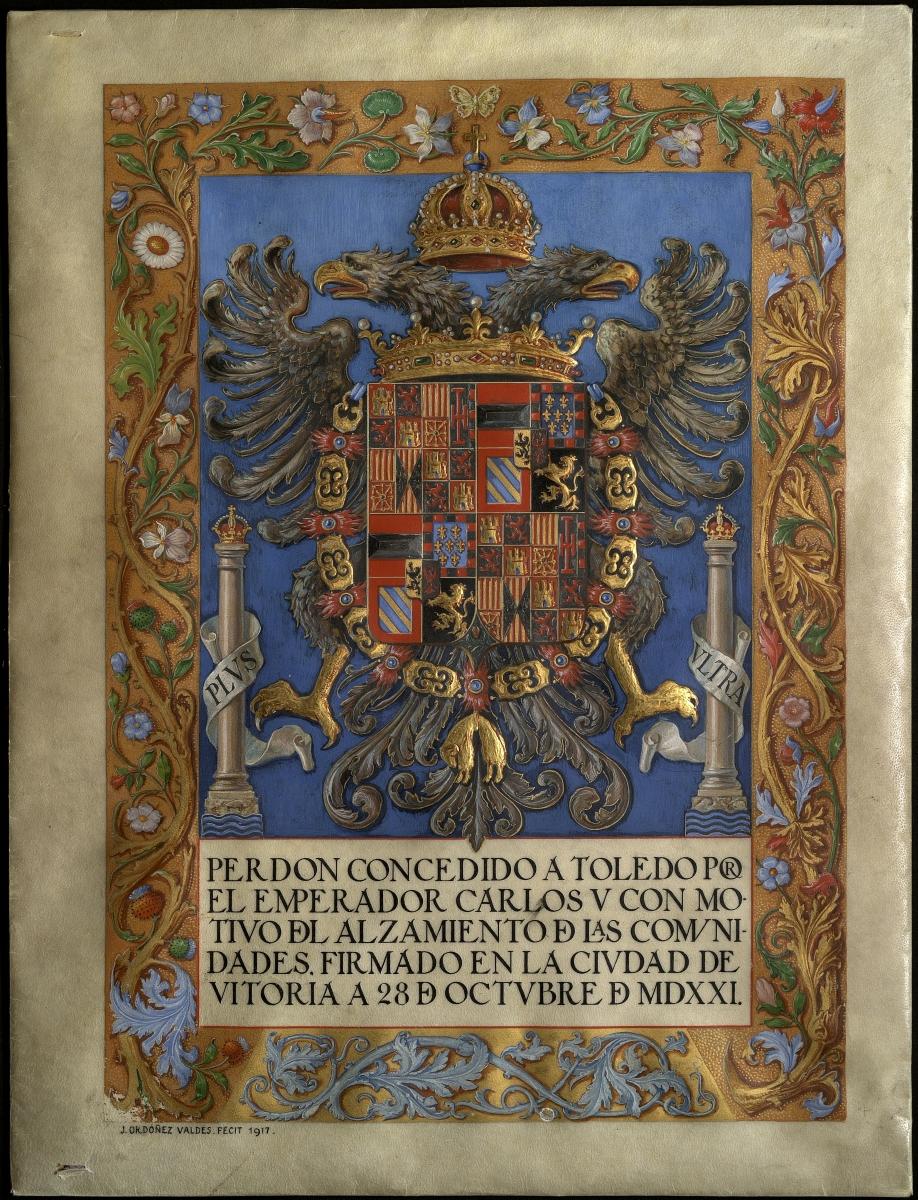 https://www.toledo.es/wp-content/uploads/2021/04/amt-toledo_perdon-a-los-comuneros-ano-1521__01.jpg. Archivo Municipal, celebramos el Día del Libro