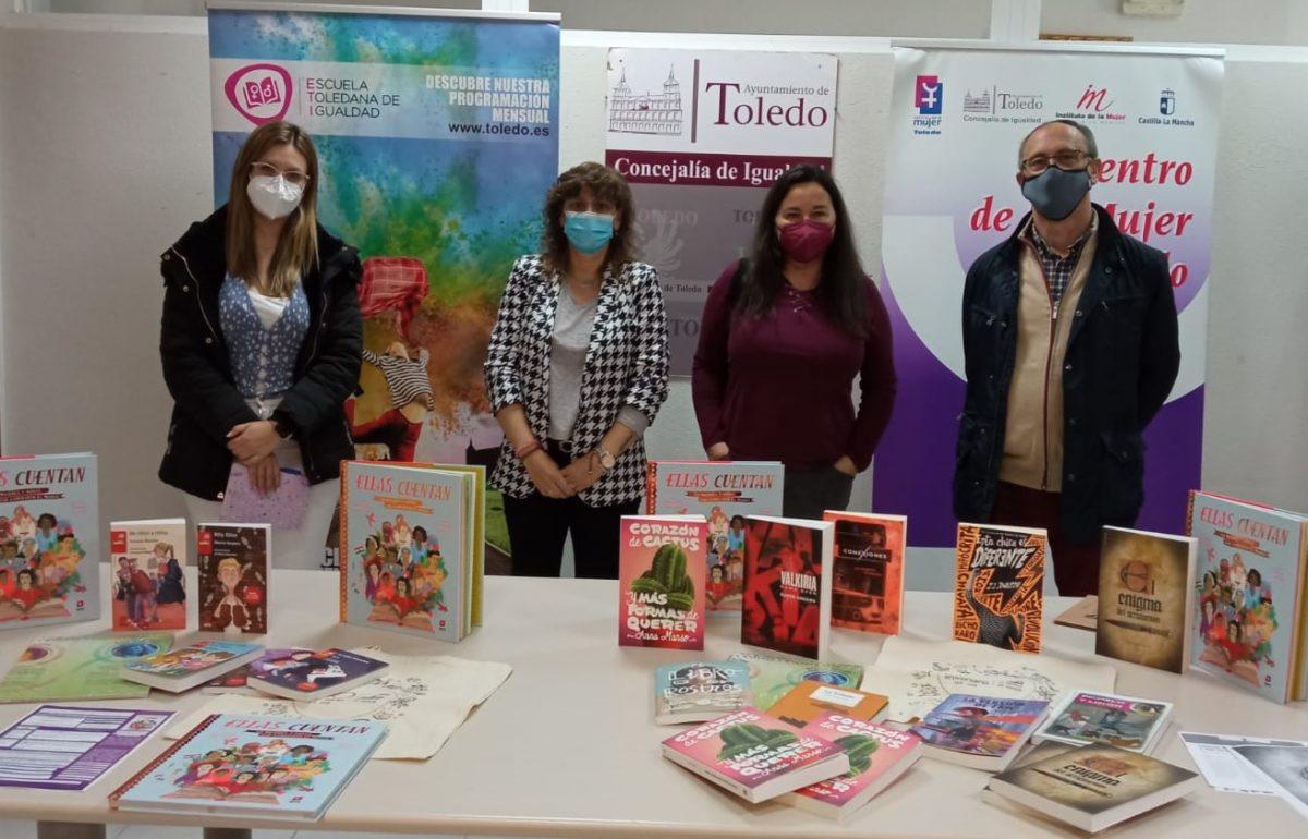 https://www.toledo.es/wp-content/uploads/2021/04/ana-abellan_entrega-libros-centros-escolares-distrito-norte-1200x770.jpg. El Ayuntamiento entrega los primeros lotes de libros para los alumnos inscritos en los talleres de igualdad y corresponsabilidad