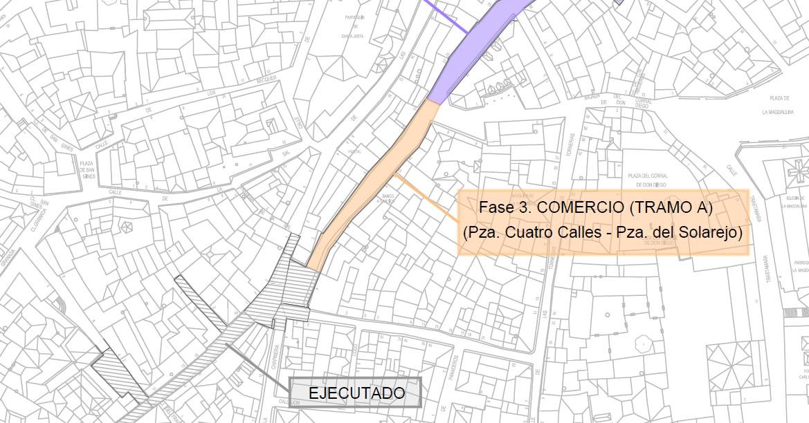 https://www.toledo.es/wp-content/uploads/2021/04/calle-comercio-tramo-3.png. El Ayuntamiento continúa este martes las obras de la calle Comercio desde las Cuatro Calles hasta la plaza del Solarejo