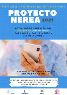 https://www.toledo.es/wp-content/uploads/2021/04/cartel-nerea-21.jpeg. Nueva Escuela Regional de Envejecimiento Activo. NEREA 2021.