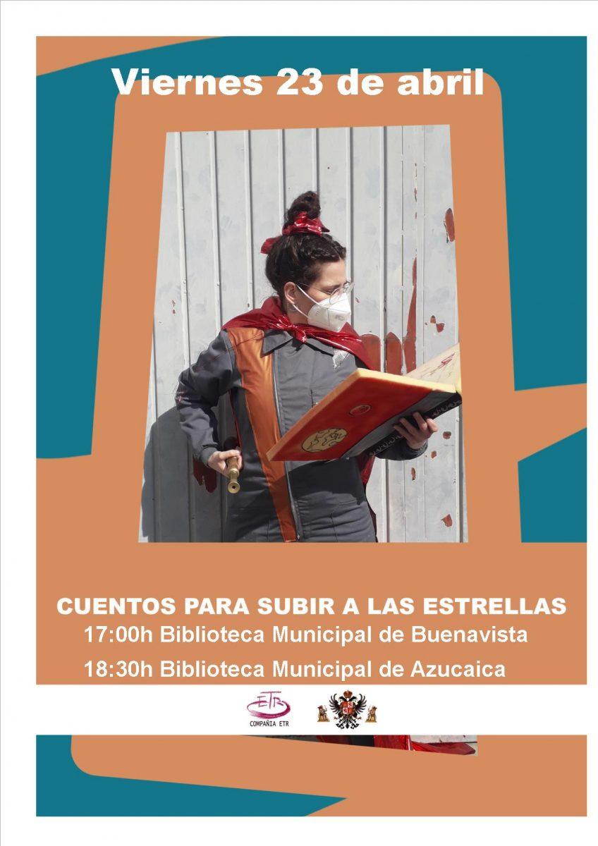 """https://www.toledo.es/wp-content/uploads/2021/04/cuentacuentos-848x1200.jpg. Cuentacuentos 23 de abril: """"Cuentos para subir a las estrellas"""""""