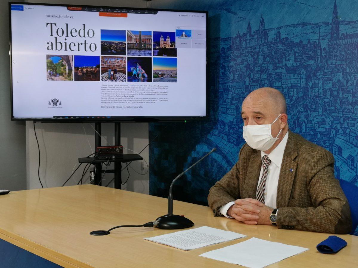 https://www.toledo.es/wp-content/uploads/2021/05/20210511_rp_rueda-1200x900.jpg. Toledo apuesta por la digitalización, sostenibilidad y adaptación al cambio del perfil del viajero de cara la próxima feria de FITUR