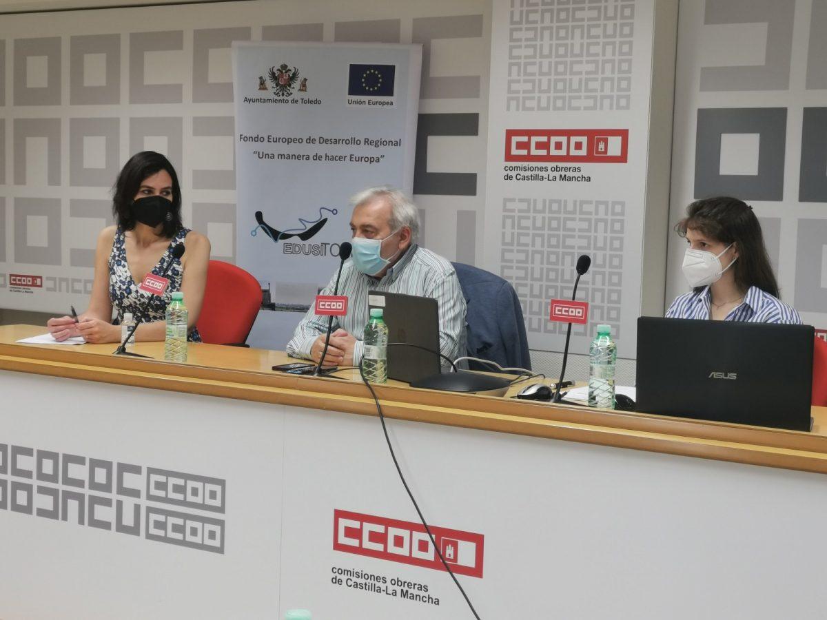 https://www.toledo.es/wp-content/uploads/2021/05/20210526_pmus_sindicatos-2-1200x900.jpg. El Gobierno local presenta ante CCOO y UGT el proyecto del Plan de Movilidad Urbana Sostenible y pide sus aportaciones