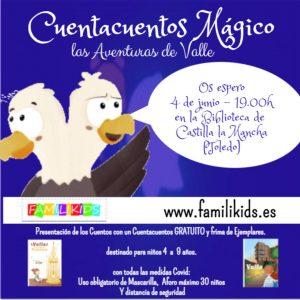 """Cuentacuentos """"Las Aventuras de Valle"""""""