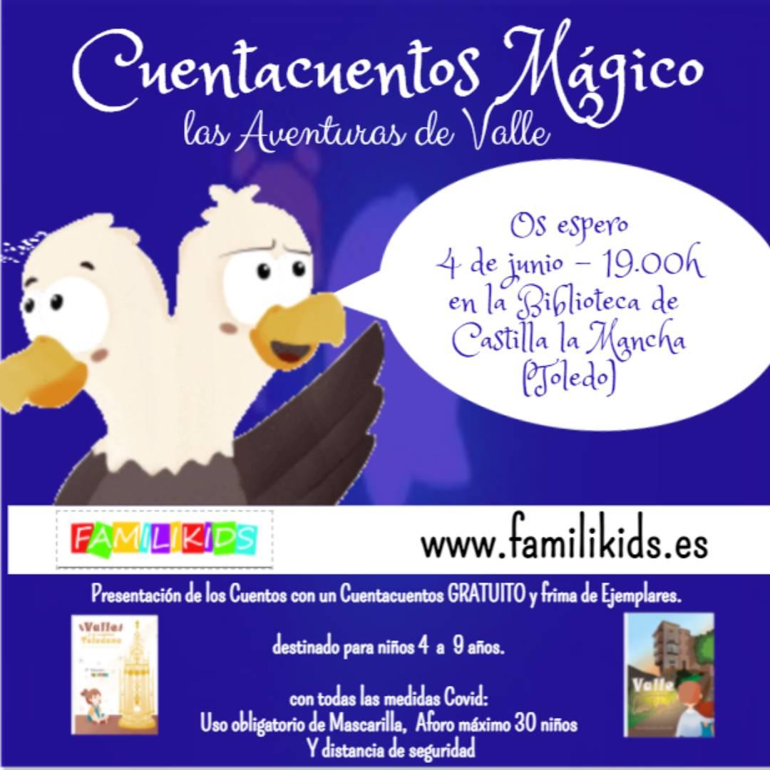 """https://www.toledo.es/wp-content/uploads/2021/05/4-de-junio.jpg. Cuentacuentos """"Las Aventuras de Valle"""""""