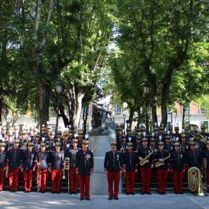 CORPUS 2021. Concierto de la Unidad de Música del Regimiento del Rey