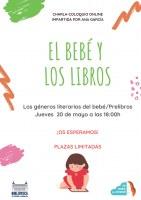 https://www.toledo.es/wp-content/uploads/2021/05/bebe_20_de_mayo.jpg. Charla online El bebé y los libros. Los géneros literarios del bebé / Prelibros
