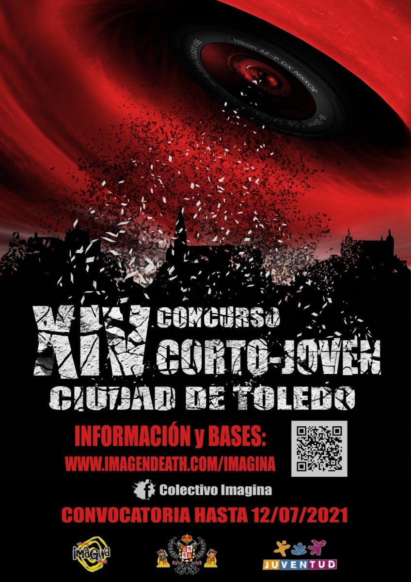 "https://www.toledo.es/wp-content/uploads/2021/05/cartel-convocatoria-definitivo-848x1200.jpg. XIV CONCURSO CORTO-JOVEN ""CIUDAD DE TOLEDO"""