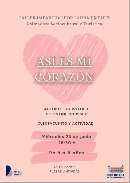 """https://www.toledo.es/wp-content/uploads/2021/05/corazon.jpg. Taller """"Así es mi corazón"""""""
