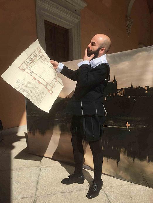 """https://www.toledo.es/wp-content/uploads/2021/05/el-arquitecto-del-alcazar.-600-kb.jpg. MUSEO EN VIVO: """"El arquitecto del Alcázar"""""""