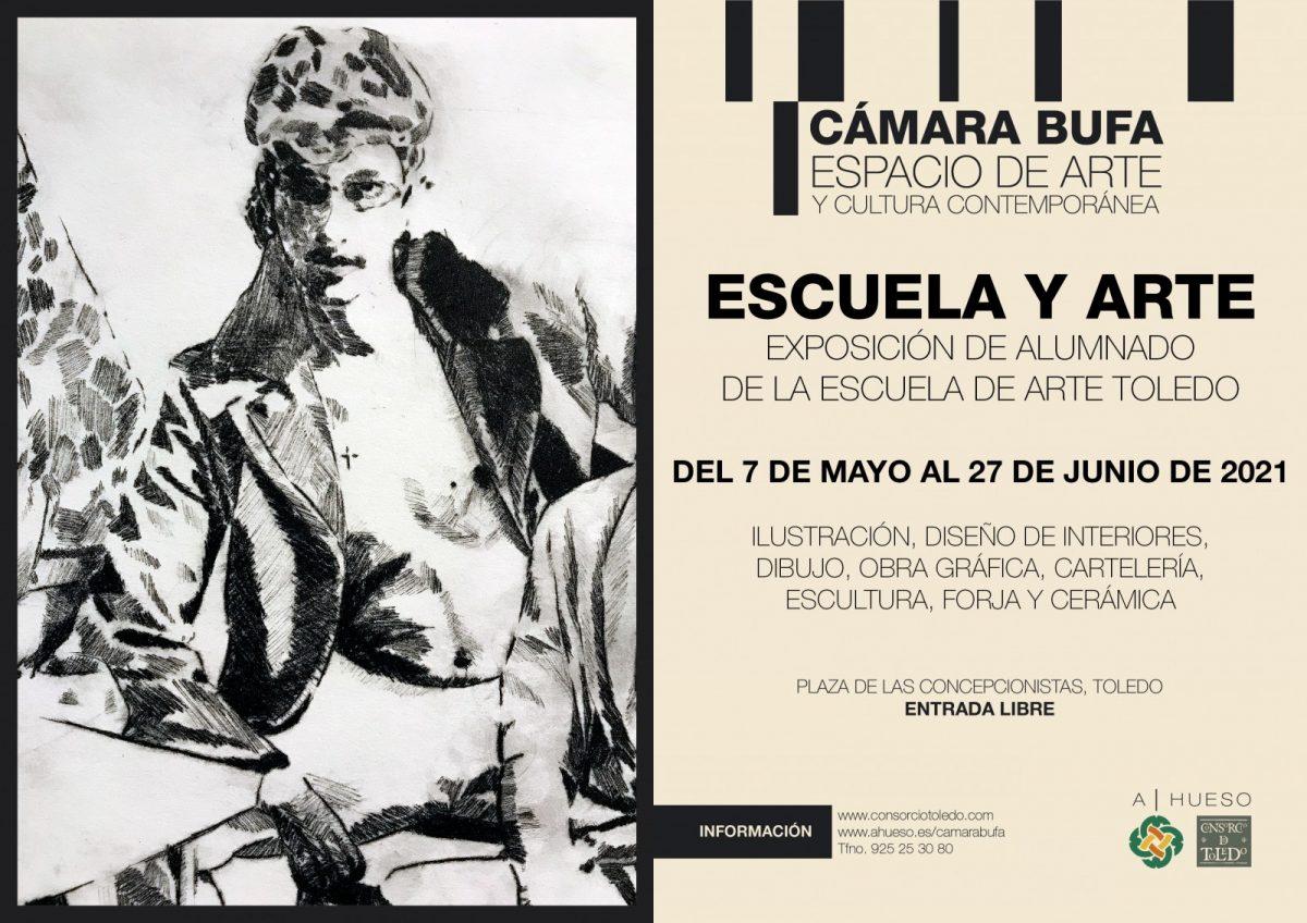 https://www.toledo.es/wp-content/uploads/2021/05/escuela-y-arte-2021-1200x848.jpg. Exposición colectiva de alumnos de la Escuela de Artes de Toledo