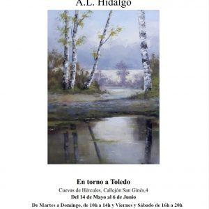 "Exposición ""EN TORNO A TOLEDO"", del artista Alfonso López Hidalgo"