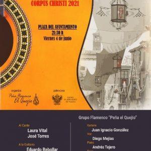 "CORPUS 2021. Festival de Flamenco ""Ciudad de Toledo"""
