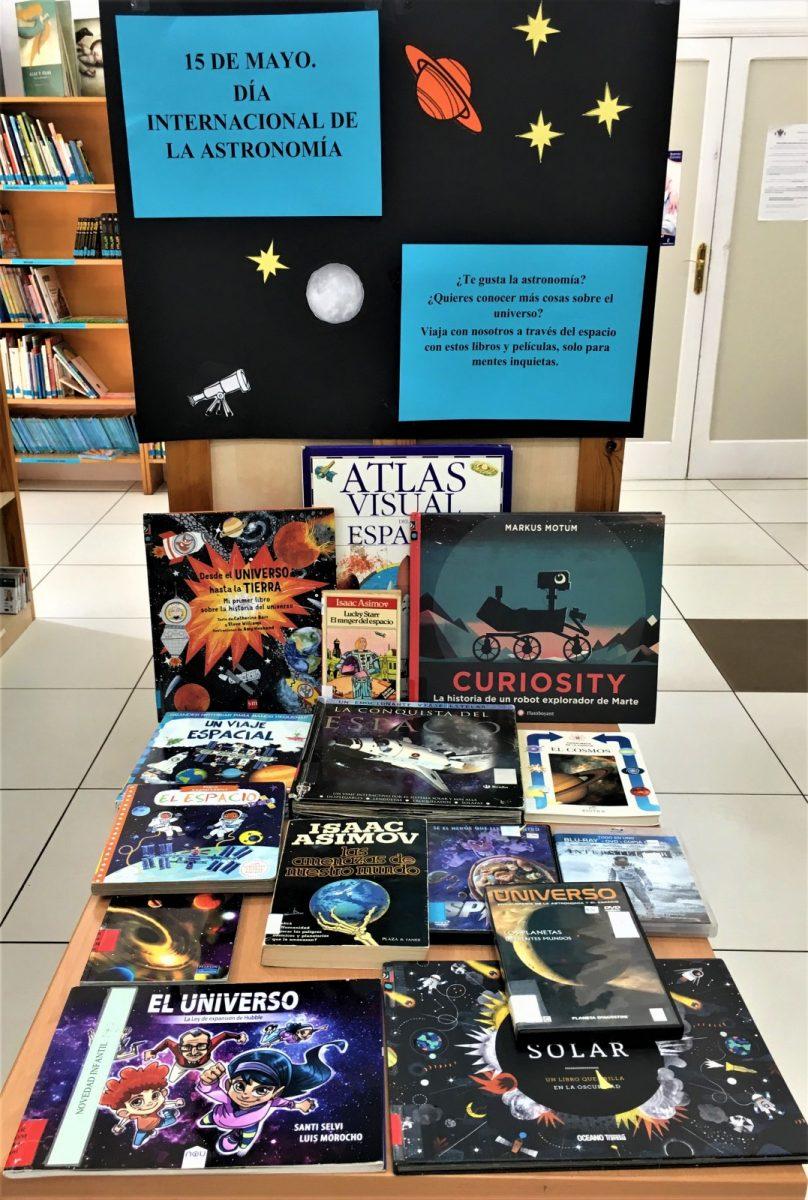 Centro de interés astronomía
