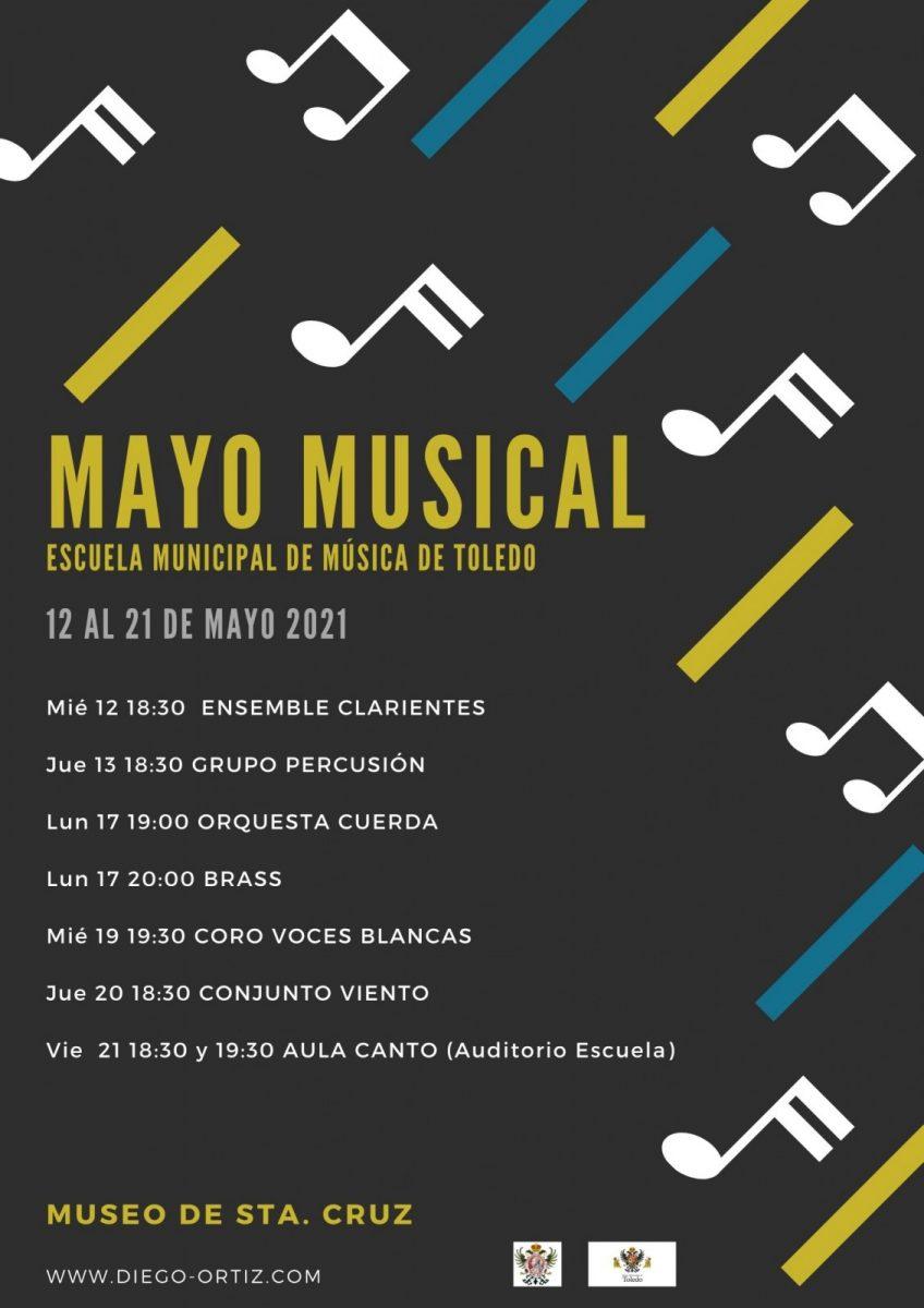 https://www.toledo.es/wp-content/uploads/2021/05/mayo_musical_21-848x1200.jpg. La Escuela Municipal de Música Diego Ortiz ofrece 'Mayo Musical' y mantiene abiertas las preinscripciones hasta el 28 de mayo