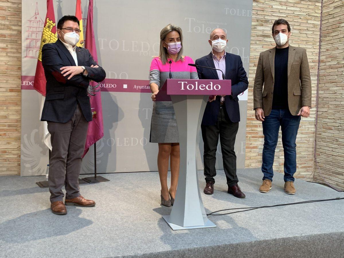 """https://www.toledo.es/wp-content/uploads/2021/05/presentacion-programacion-mayo-y-junio-3-1200x900.jpg. Milagros Tolón presenta """"Vive, siente Toledo"""", una amplia programación para retomar el pulso cultural y lúdico de Toledo"""