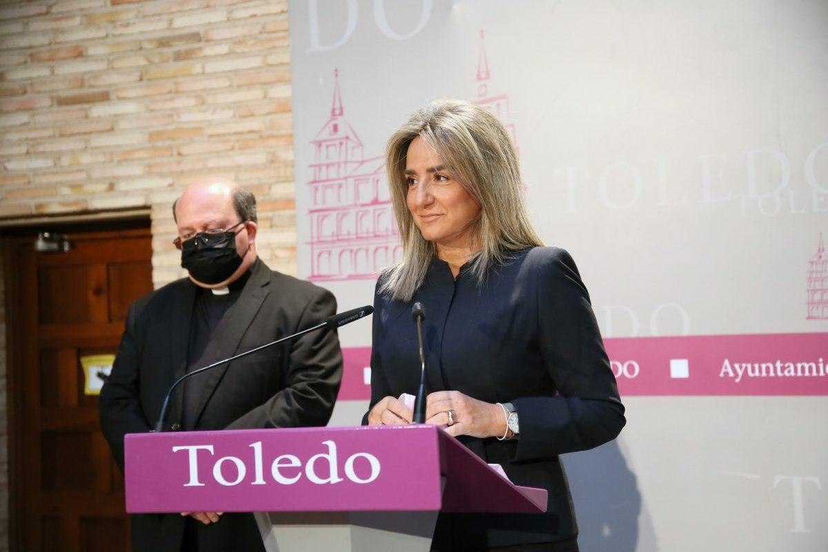 """https://www.toledo.es/wp-content/uploads/2021/05/rp-corpus-01-1200x800.jpg. Toledo recupera su Corpus, adaptado a la pandemia, """"para volver a recobrar sensaciones, tradiciones y llenarse de vida"""""""