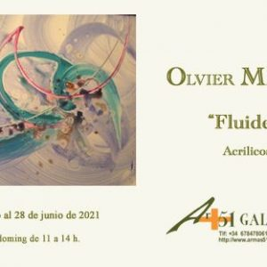 """Exposición: Olvier Malagnas """"Fluidez"""""""