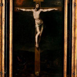 Pieza invitada del Museo del Greco: Tríptico de la Crucifixión