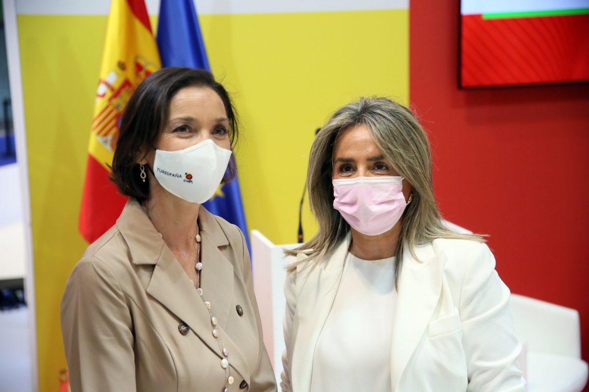 https://www.toledo.es/wp-content/uploads/2021/05/turismo_toledo_turespana_9-1200x800.jpg. La ministra de Turismo y la alcaldesa anuncian que Toledo se abre al turismo internacional en la presentación de 'Vive, Siente Toledo'