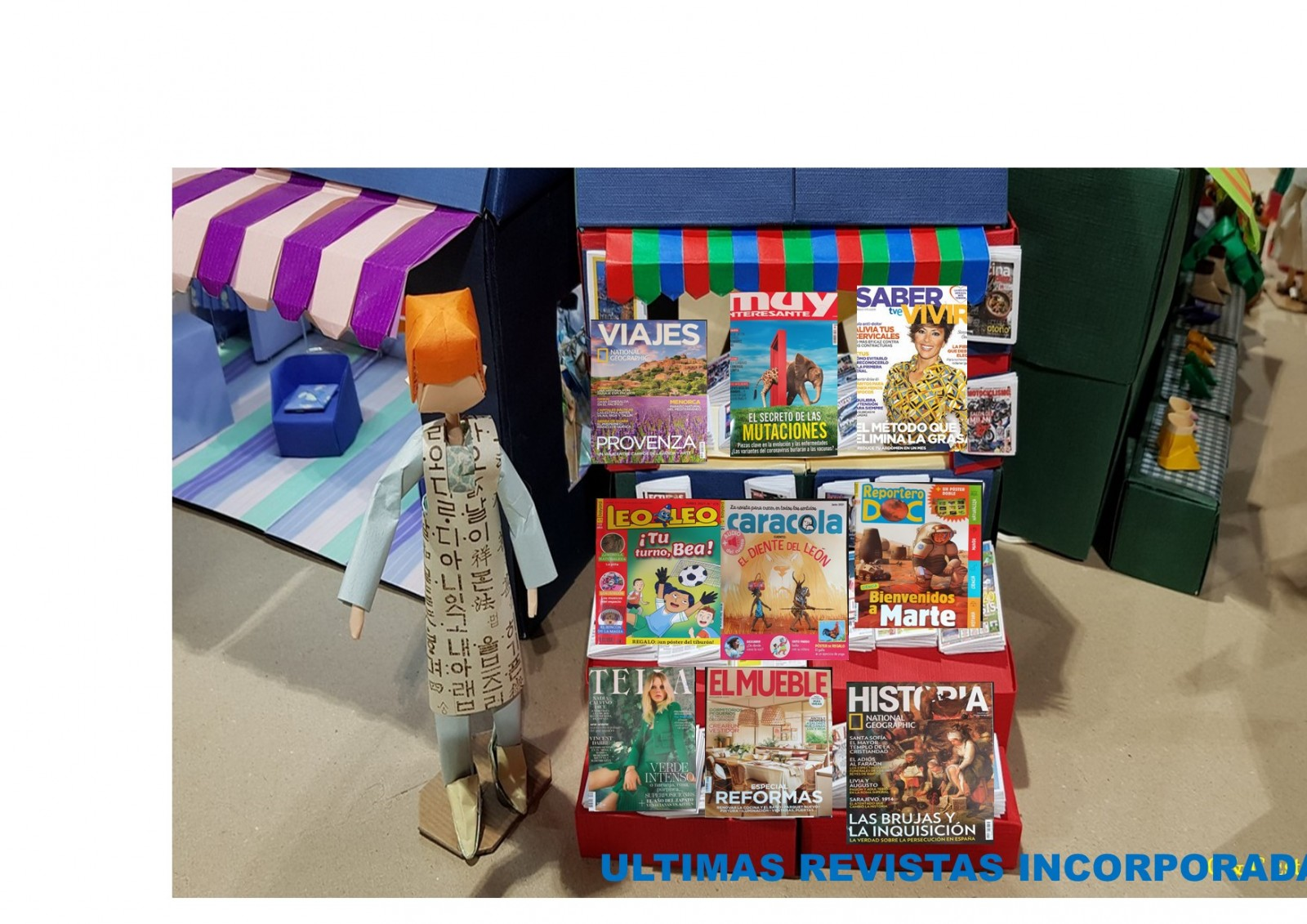 Ultimas revistas incorporadas