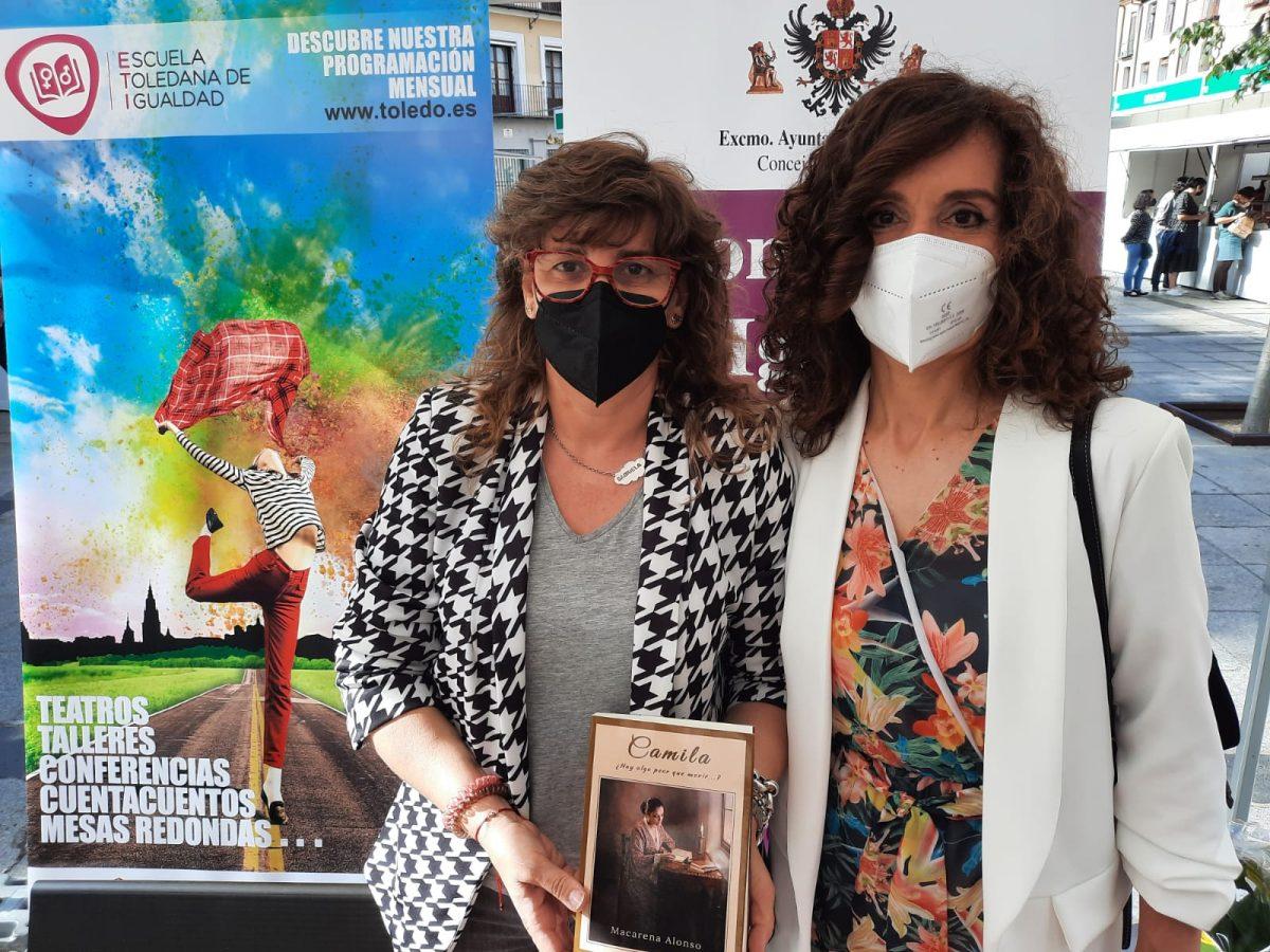 https://www.toledo.es/wp-content/uploads/2021/05/whatsapp-image-2021-05-14-at-18.41.03-1200x900-1.jpeg. El Gobierno local respalda a Macarena Alonso en la presentación de su novela 'Camila' en la Feria del Libro.