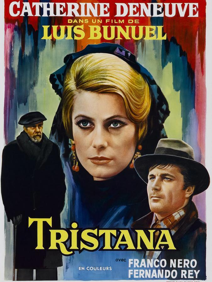 """https://www.toledo.es/wp-content/uploads/2021/06/1cartel-kgyb-675x900abc.jpg. Proyección-homenaje 50 Aniversario """"Tristana"""",  L. Buñuel"""