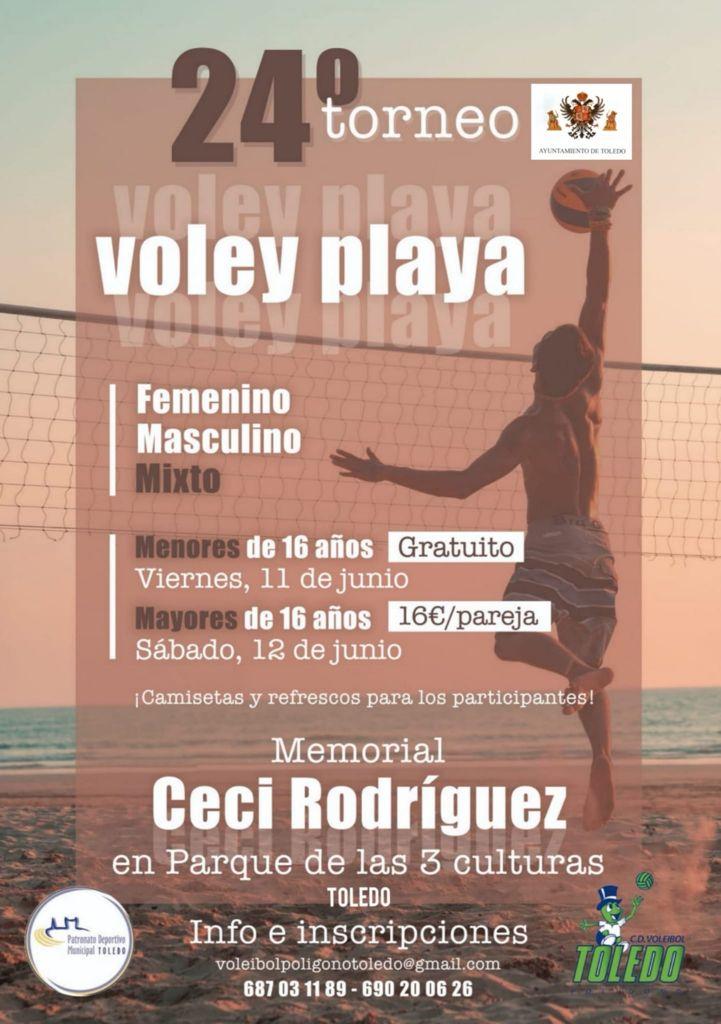 https://www.toledo.es/wp-content/uploads/2021/06/cartel-torneo-voley-playa.jpeg. Cerca de 90 deportistas se disputan en Toledo los días 11 y 12 de junio el 24º Torneo de Vóley Playa con apoyo municipal