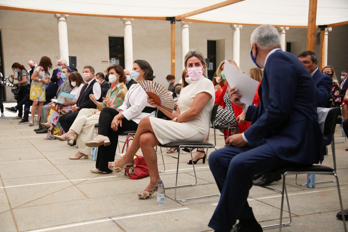 "https://www.toledo.es/wp-content/uploads/2021/06/doplomacia_cultutal_7-1200x800.jpg. Milagros Tolón: ""Toledo es un ejemplo histórico de convivencia intercultural donde se han fraguado grandes consensos"""