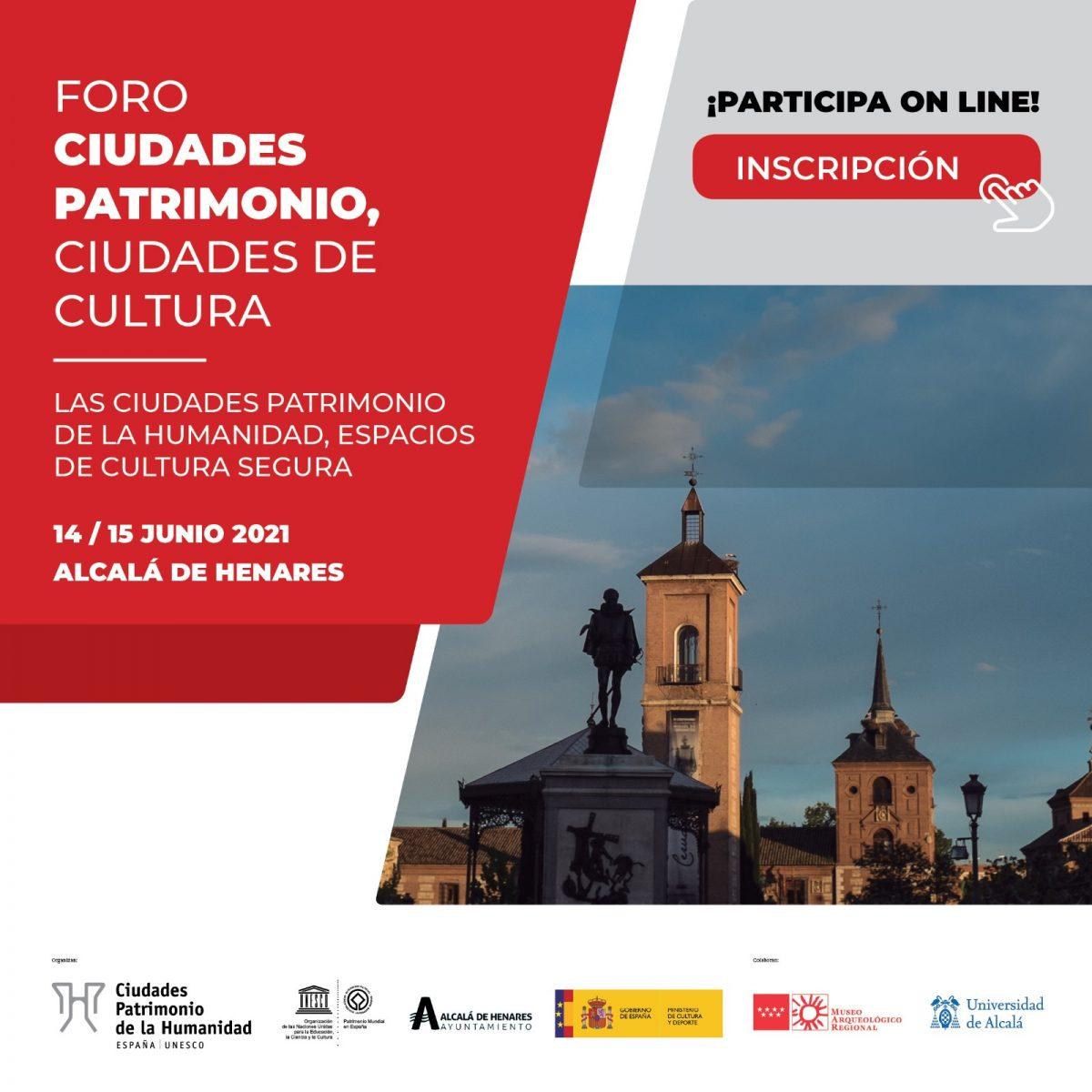 https://www.toledo.es/wp-content/uploads/2021/06/foro-cultura_gcphe-1200x1200.jpeg. Toledo y Ciudades Patrimonio de la Humanidad abordan el papel de la cultura y la gestión cultural en entornos patrimoniales