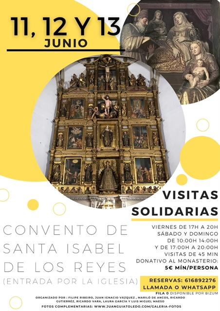 https://www.toledo.es/wp-content/uploads/2021/06/image0.jpeg. Visitas Solidarias al Convento de Santa Isabel de los Reyes