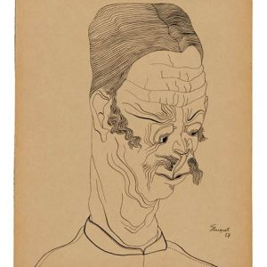 Exposición: Pierre-Louis Flouquet. Retratos Imaginarios